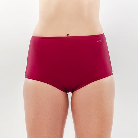 Blooming Bordeaux - Bikini Panty HighHip - badaga