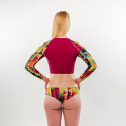 Colorful Triangles - RashGuard - badaga