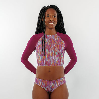 Pink Jungle - RashGuard - badaga