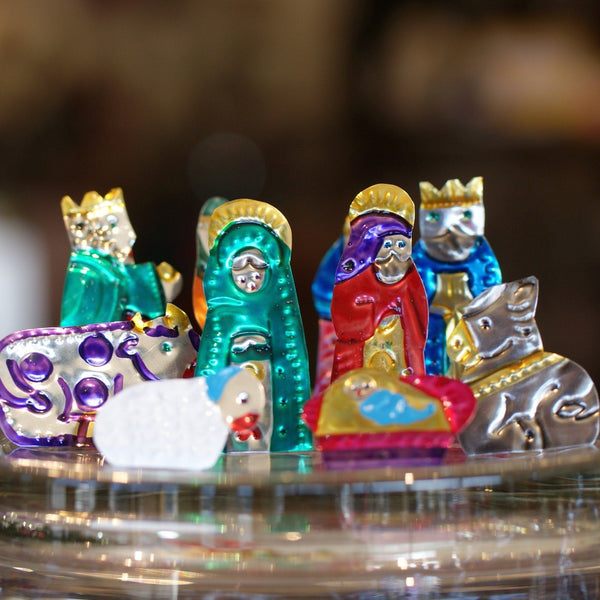 Traditional Mexican Nativity Scenes