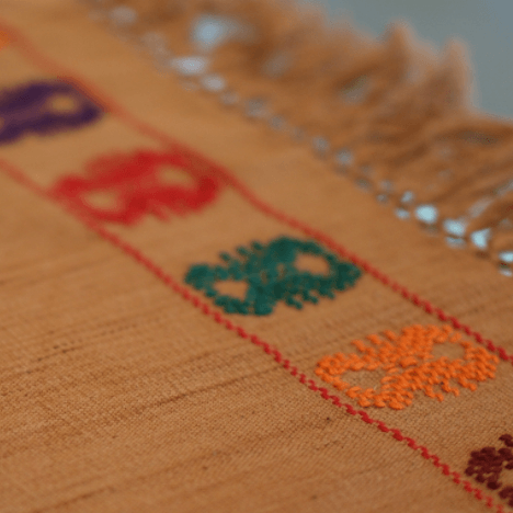 Brown Mexican Textiles