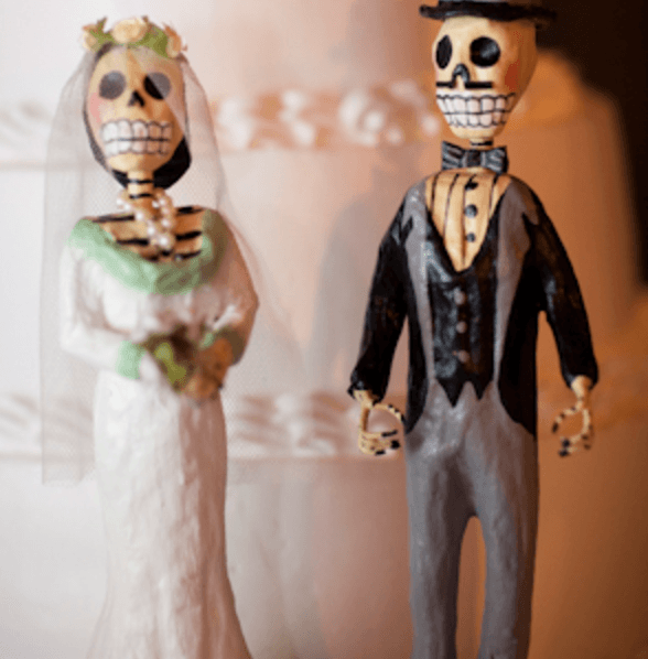 Mexican Day of the Dead Themed Weddings