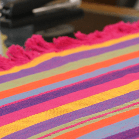 Colorful Cotton Tablecloths and Napkins from Patzcuaro