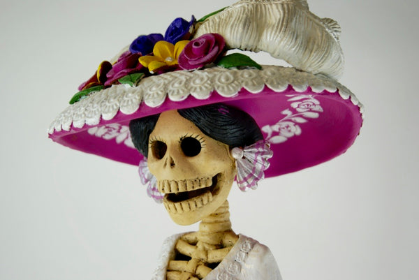 What Is A Day Of The Dead Catrina Zinnia Folk Arts