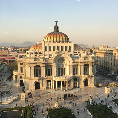 Mexico City, Bellas Artes