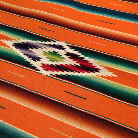 Saltillo Blanket-Zinnia Folk Arts