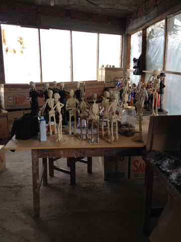 Paper Mache Skeleton Workshop