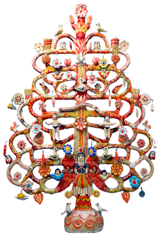 Tree of Life-Zinnia Folk Arts