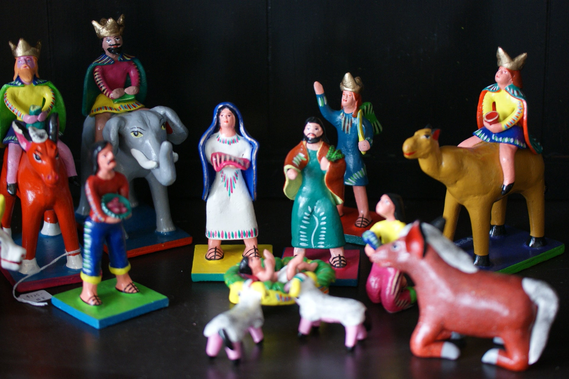 Gerardo Ortega Nativity Set