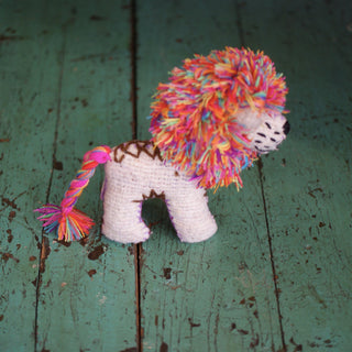 Wool Lions  from Chiapas - Zinnia Folk Arts