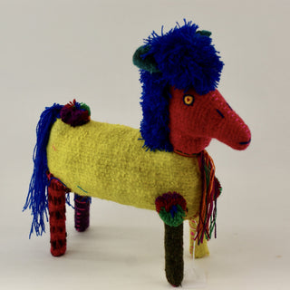Wool Horses from Chiapas, Large - Zinnia Folk Arts