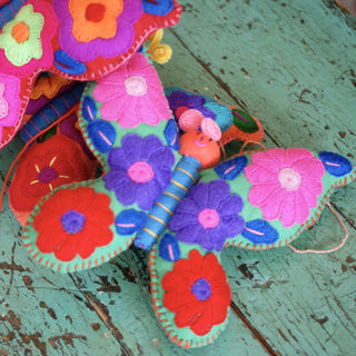 Soft Flannel Butterflies, Grande - Zinnia Folk Arts