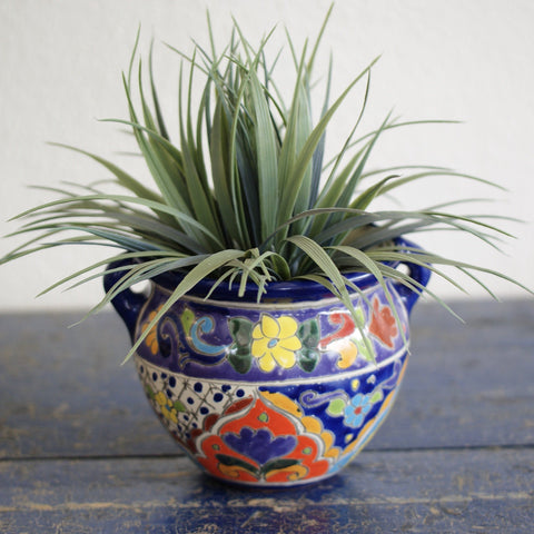 Small Michoacana Flower Pot - Zinnia Folk Arts
