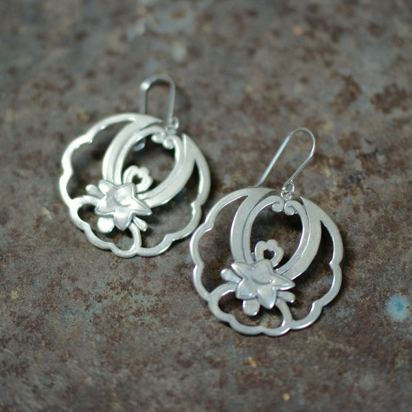 Ostra Mexican Silver Earring