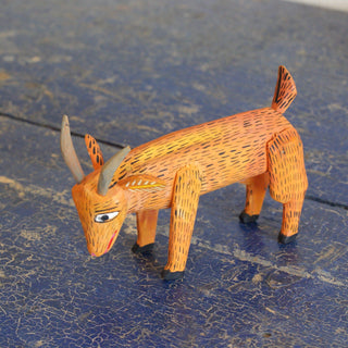 Small Carved Wooden Animalitos, La Uníon, Oaxaca - Zinnia Folk Arts