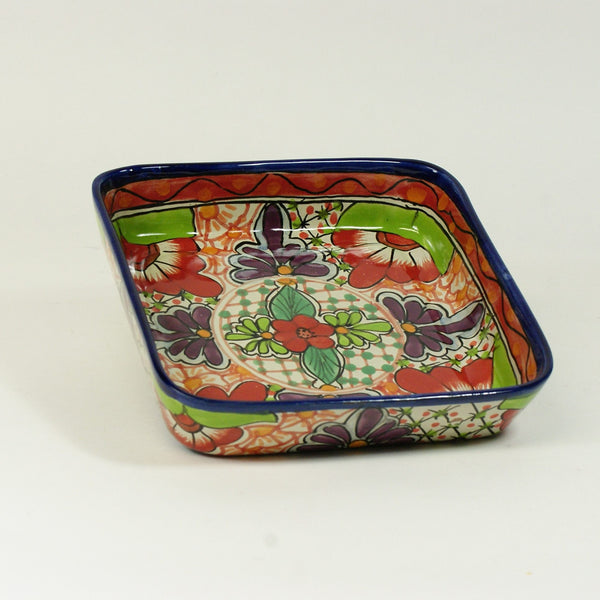 8 x 8 Mexican Talavera Baking Pan