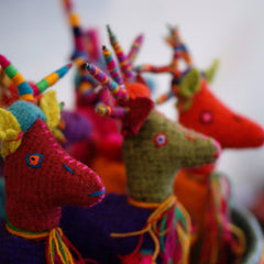 Wool Reindeer from Chiapas, Small