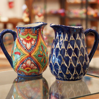 Talavera Water Pitcher - Zinnia Folk Arts