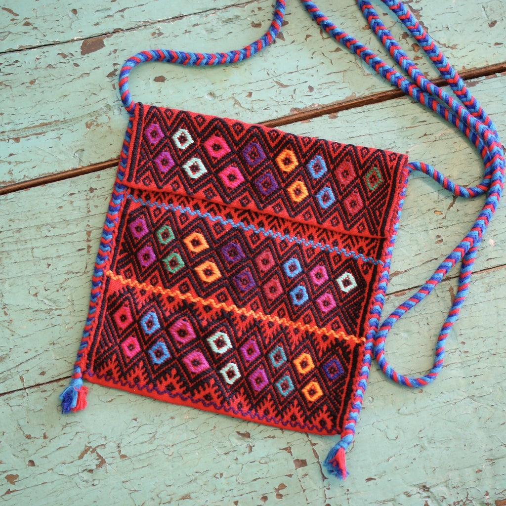 Handwoven Bags from Chiapas - Zinnia Folk Arts