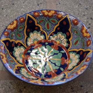 Extra Grande, Large Bowl - Zinnia Folk Arts