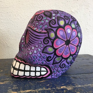 Extra-Large Day of the Dead Skulls - Zinnia Folk Arts