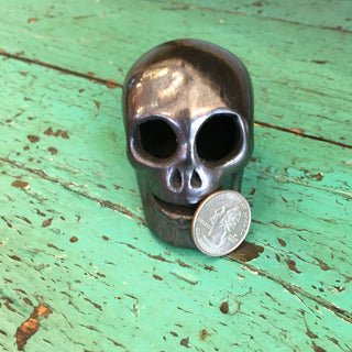 Black Clay Skulls - Zinnia Folk Arts