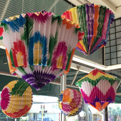 Mexican Paper Lanterns, 2 Styles