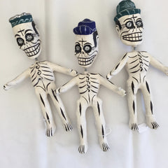 Bouncing Neck Day of the Dead Skeletons