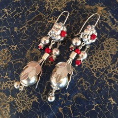 Tziki Sterling Silver Earrings