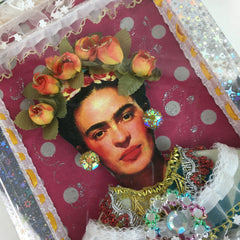 Frida Kahlo Wooden Nicho Boxes