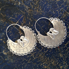 Little Parrot Arracadas, Sterling Silver