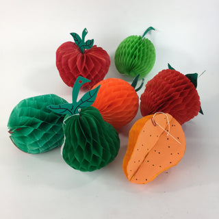 Small Honeycomb Mexican Fruit - Zinnia Folk Arts