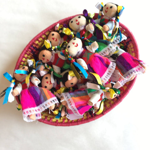 Small Maria Dolls - Zinnia Folk Arts