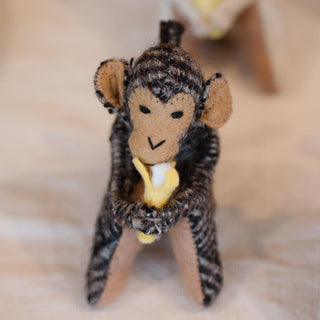 Tiny Wool Monkeys from Chiapas - Zinnia Folk Arts