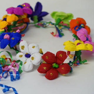 Mexican Paper Flower Crowns, or Coronas - Zinnia Folk Arts