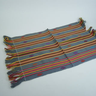 Set of Four Chiapas Embroidered Placemats - Zinnia Folk Arts