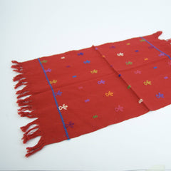 Red Chiapas Embroidered Placemats