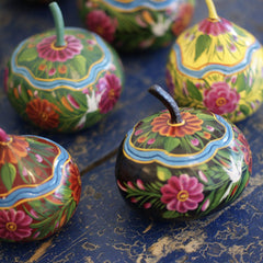 Painted Olínala Gourds, Small