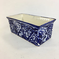 Blue and White Talavera Flower Boxes