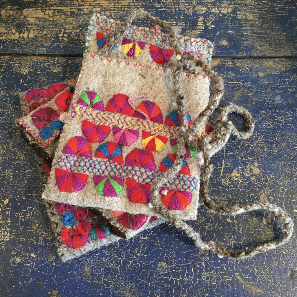 Woven Bags from Chiapas, Medium - Zinnia Folk Arts
