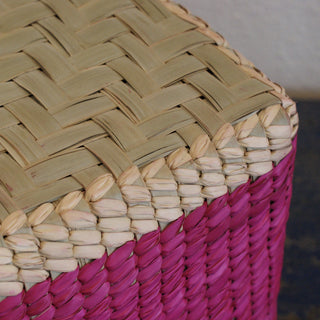 Oaxacan Lidded Square Baskets - Zinnia Folk Arts