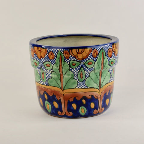 Talavera Flower Pots, Medium-Large - Zinnia Folk Arts