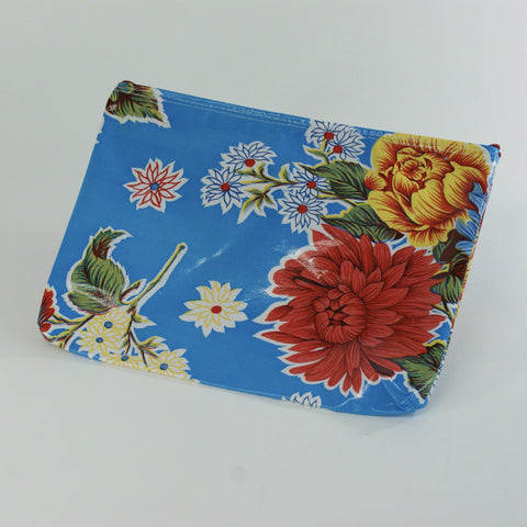 Oil Cloth Cosmetic Bags - Zinnia Folk Arts