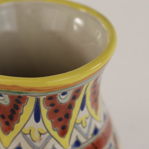 TalaveraYellow Flower Vase - Zinnia Folk Arts