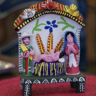 Ocumicho Nativity Scenes On Feet - Zinnia Folk Arts
