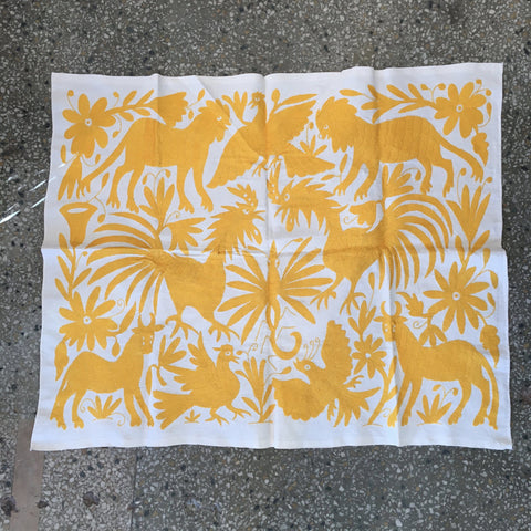 Otomi Hand Embroidered Tenango Large Rectangles - Zinnia Folk Arts