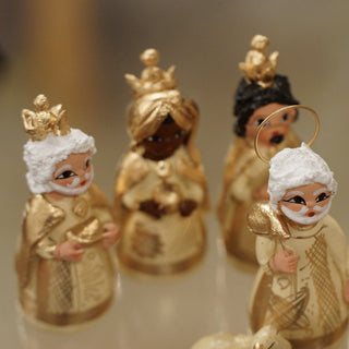 Tonalá 14 Piece Clay Nativity Set - Zinnia Folk Arts