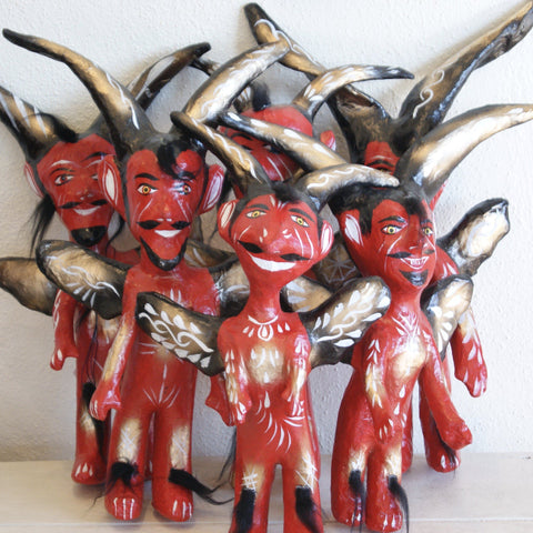 Mexican Papier-Mâché Judas Figures, Large - Zinnia Folk Arts