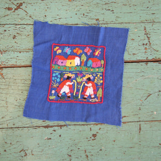 Michoacán Story Cloth Textiles, Small - Zinnia Folk Arts