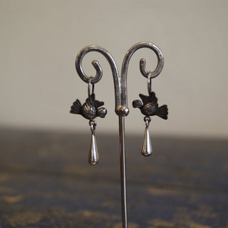 Mexico City Lovebirds with Cup Dangles - Zinnia Folk Arts